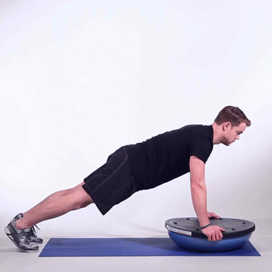Bosu Ball Side Plank: Enhance Therapy